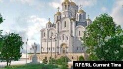 Проект Храма-на-воде в Екатеринбурге