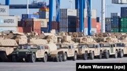 Американская военная техника. Иллюстрационное фото
