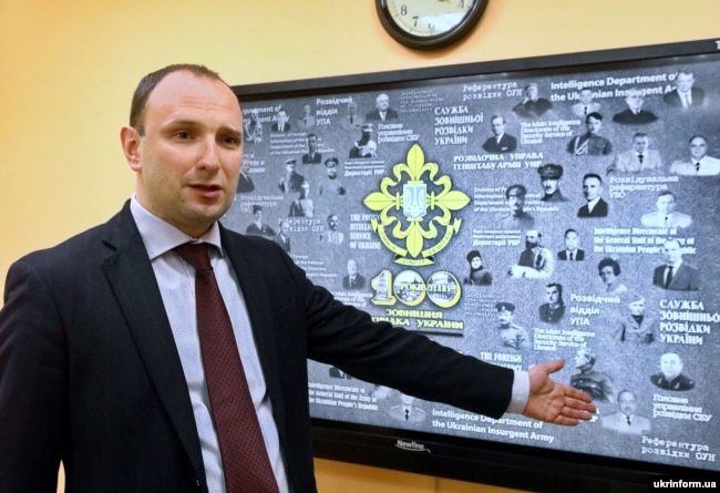 Голова Служби зовнішньої розвідки України Єгор Божок. Київ, 18 січня 2019