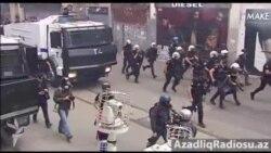 İstanbulda Taksim hadisələrinin ildönümündə yeni toqquşmalar