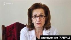 Արտաշատի բժշկական կենտրոնի փոխտնօրեն Սերինե Հայրապետյանը: