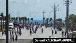 На грузинском курорте Анаклия сегодня отмечали траурную дату – День черкесского геноцида