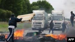 Protest kamiondžija u Francuskoj