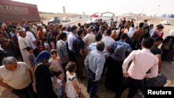 عائلات ينزح من الموصل