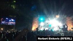 Nastup Davida Guette, Novi Sad, 8. juli 2016.