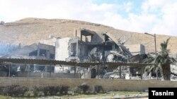 Результаты удара США и их союзников по одному из объектов Башара Асада. 14 апреля.
