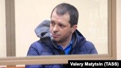 Андрей Виноградов на одном из судебных заседаний