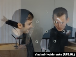 Евгений Ерофеев и Александр Александров в киевском суде