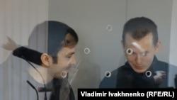 Евгений Ерофеев и Александр Александров в суде в Киеве