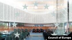Sala de şedinţe a CEDO
