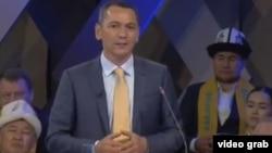 Омурбек Бабанов на теледебатах. 4 октября 2017 г.