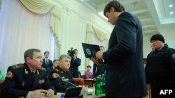 Затримання голови Державної служби з надзвичайних ситуацій Сергія Бочковського на засіданні уряду