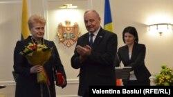 Vizita preşedintei Lituaniei Dalia Grybauskaite la Chişinău