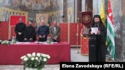 Председатель Священной митрополии Абхазии архимандрит Дорофей (Дбар) рассказал о работе Митрополии с 2011 года