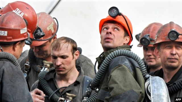Four miners were killed in the accident (file photo)