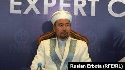 Заместитель председателя Духовного управления мусульман Казахстана (ДУМК) Серик Ораз. Астана, 10 июня 2016 года.