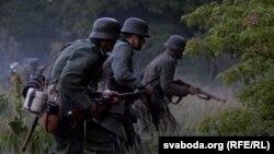 Историческая реконструкция первых дней войны между СССР и Германией. Брест, июнь 2011 года