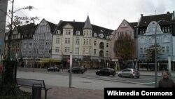 Ботроп, Рыночная площадь. Земля Северный Рейн–Вестфалия.