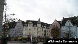 Боттроп, Рыночная площадь. Земля Северный Рейн - Вестфалия.