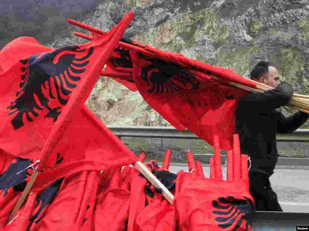 Kačanik, 17.02.2011. Foto: Reuters / Hazir Reka