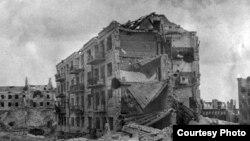 Pamje nga Stalingradi në kohën e Luftës së Dytë Botërore