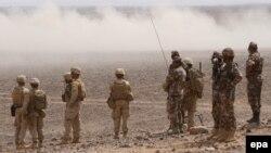 Američki marinci i jordanski vojnici