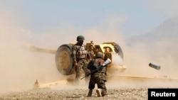 Ілюстраційне фото: Афганська національна армія на навчаннях у провінції Лагман, 5 березня 2013 року