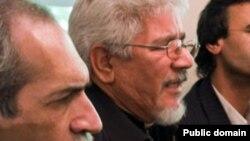 علی حکمت (راست)و محمدرضا زهدی