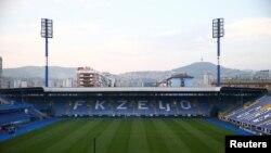 Stadion Grbavica FK Željezničara u Sarajevu, BiH