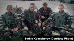 Сергій Колмогоров (крайній справа)