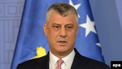 Kosovo's Foreign Minister Hashim Thaci, who led the fighters of Kosovo's successful separatist war against Serbia in 1998-99, believes he has the votes in the 120-seat parliament.