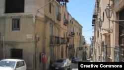 Улица в городе Корлеоне.