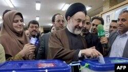 محمد خاتمی، رییس جمهوری سابق ایران پیشتر گفته بود که بازی محافظه کاران را بر هم زد. ( عکس: AFP)