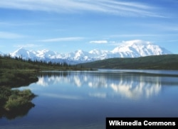 Озеро Уандер. Аляска