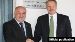 Arif Hacılı və Robert Cekuta - 9 iyun 2015