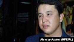 Режиссер и соавтор сценария «Шлагбаума» Жасулан Пошанов. Алматы, 6 октября 2015 года.