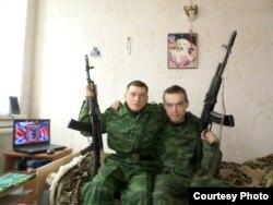 Ігар Каляда (справа)