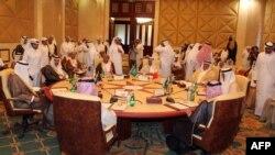 یکی از نشستهای شورای همکاری خلیج فارس.