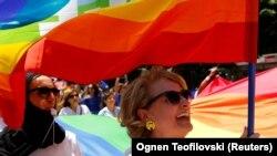 Првата парада на гордоста во Скопје