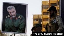 عکس قاسم سلیمانی، فرمانده سپاه قدس، در عراق