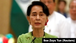 Liderja e Mianmarit, Aung San Suu Kyi.