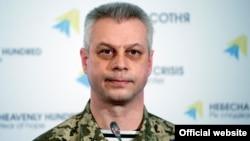Андрій Лисенко, речник Адміністрації президента України з питань АТО