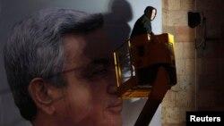 Serzh Sarkisian-ın seçki plakatı