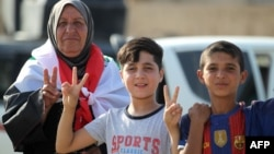 İraqda Mosulun azad edilməsini bayram edirlər