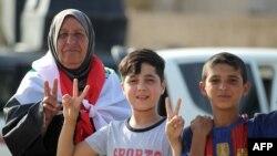 Жителі Мосула вітають звільнення міста від бойовиків, 9 липня 2017 року