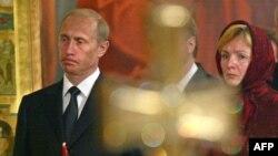 Putin və xanımı Lyudmila