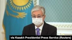 Президент Казахстана Касым-Жомарт Токаев в Нур-Султане. 3 июля 2020 года.