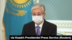 Қозоғистон президенти Қасим-Жомарт Тоқаев.