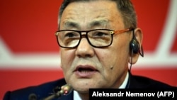 The recently elected president of the International Boxing Association (AIBA) Gafur Rakhimov (file photo)