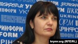 Заместитель главы правления Укргазбанка Алена Дмитриева